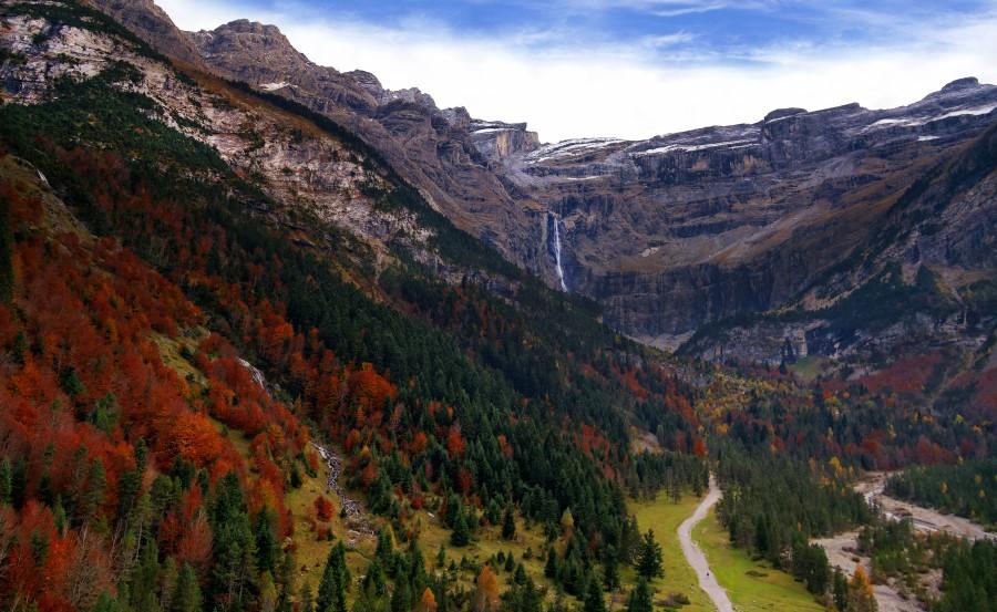 Pyrenees Cirque de Gavarnie Cascade%20Gavarnie