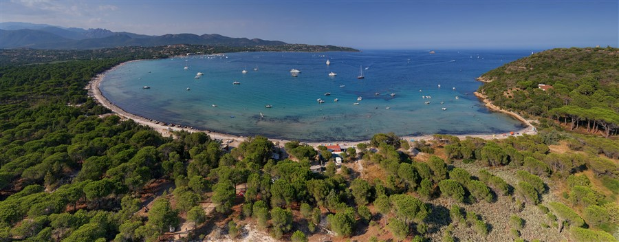 Tour de La Corse (Presque) Plage%20de%20Pinarello