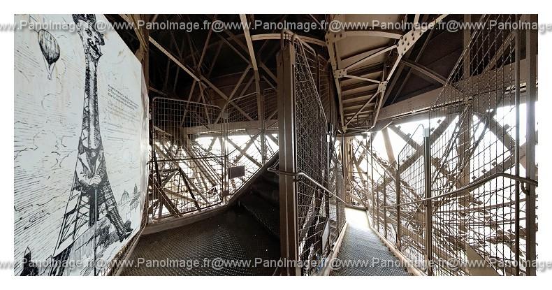 La tour eiffel - Escalier de la tour eiffel ...